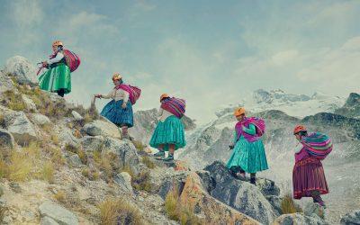 Cholitas se exhibe en FINDE